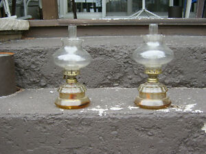 LOOK ---OIL LAMPS