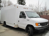 2005 Ford E-350 14 foot - Cube Van - New Transmission