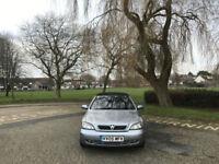 2005 Vauxhall Astra 1.6i 16v Bertone 2 Door Convertible Silver