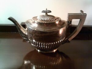 Sterling Silver Tea Pot Made in England - Vintage Silverware