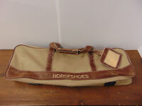Horseshoes Set & Carry Bag