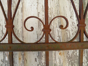 Antique Iron Fence - 5.5 ft. section