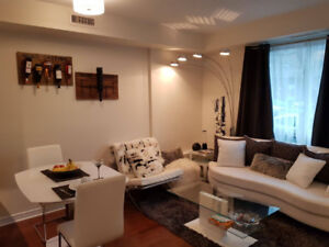 Beautiful and modern 1-2 bedroom Condo i  Downtown Living