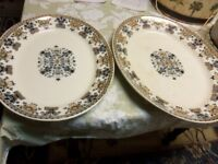 1880's IoLanthe E.F.B. & sons *2* large Platters @ Yard sale