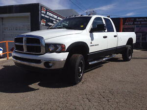 2005 Dodge 4X4 SLT HEAVY DUTY Truck LONG BOX DIESEL