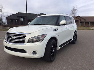 Fully-Loaded, Luxurious Infiniti QX80