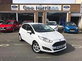 Ford Fiesta 1.0 (100ps) EcoBoost Zetec 5dr - ONE OWNER - LOW MILES