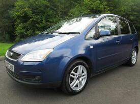 07/07 FORD FOCUS C-MAX 1.8 TDCI ZETEC 5DR MPV IN MET BLUE