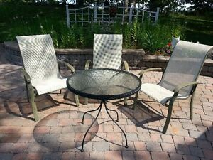 Patio Chairs & Table