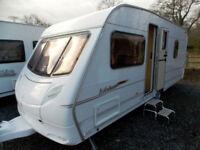 ACE Jubilee Statesman 2005 4 Berth Fixed Bed Lightweight Touring Caravan