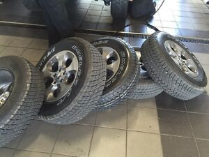 5 Brand New Stock Jeep tires