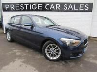 2014 BMW 1 Series 1.6 116d EfficientDynamics Sports Hatch (s/s) 5dr Diesel blue