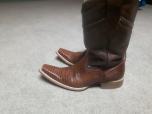 Used cowboy boots.