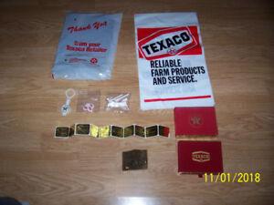 Old Texaco Items
