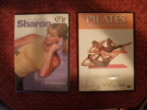 2 dvd d'exercices