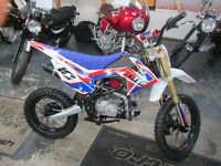 10Ten Dirt Bike MX125R 17/14. Pit Bike