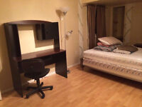 Renting out a downstair bedroom with half washroom