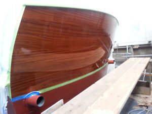Yacht varnish and paint