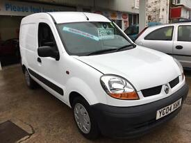 2004 RENAULT KANGOO SL17dCi 70 Van From GBP1750+Retail package.