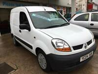 2004 RENAULT KANGOO SL17dCi 70 Van From GBP1950+Retail package.