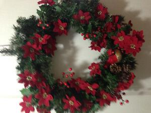Xmas wreath Kitchener / Waterloo Kitchener Area image 1