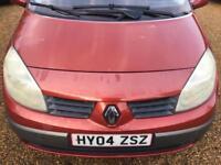 2004 Renault Scenic 1.6 VVT 115 Dynamique - 2 keys - MOT UNTIL MAY 2018