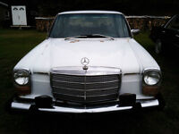 Mercedez diesel 240 1974  - 4 cylindre