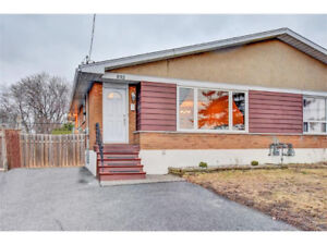 Just renovated! Lower level 2 bed apt in central location!
