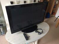Panasonic TX-P42X10B Flat screen plasma TV