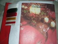 Crafters–Christmas Placemat/Napkin Kit