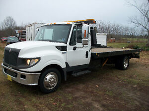 2012 INTERNATIONAL TERRASTAR TOW/DECK TRUCK DIESEL