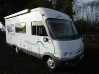 1999 Hymer B584 A Class 3 Berth 3 Seat Belts RHD Motorhome For Sale Ref 11219