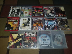 Ps3 Game lot 14 Games