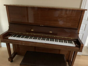 U3 1990 YAMAHA PIANO IN EXCELLENT CONDITION FOR SALE