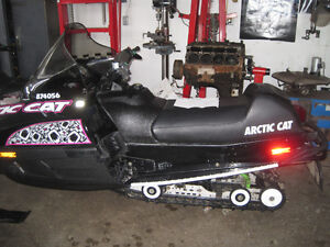 Trade 2 Arctic Cat Sleds For a Plow Truck