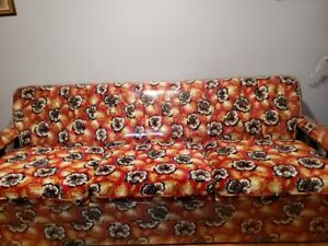 comfy couch and matching Chair for sale