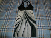 Grey and Black Dress Size S