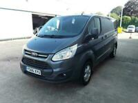 2016 Ford Transit Custom 2.0 TDCi 290 Limited Double Cab-in-Van L1 H1 6dr (EU6)