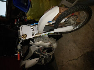 2008 Yamaha yz 250 lots of upgrades