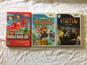 Wii Video Games at $5 each