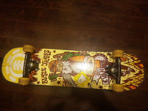 ELEMENT Evan Smith This Ol Dog skate pro-model 7.75 Barely used