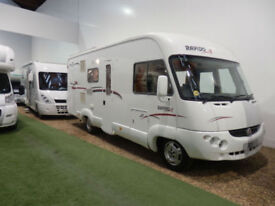 RAPIDO 963F / A CLASS / 4 BERTH / GARAGE / AIR CON / 3500KG / ALKO / 2800CC