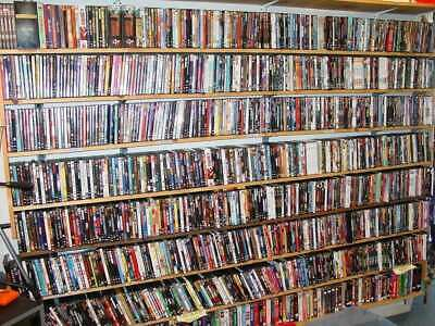 LIST OF BRAND NEW MINT UNCIRCULATED DVD MOVIE SLIPCOVERS - LIST ONLY!