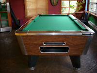 valley 7' pool table bar box commercial grade slate top