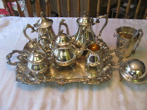 Silver Plated  Vintage Tea and coffee set