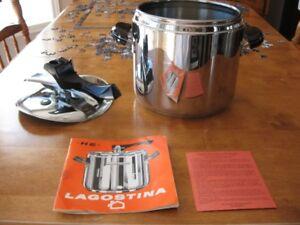 Cocotte express Lagostina en acier inoxydable 18/10