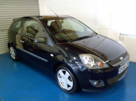 Ford Fiesta 1.4TDCi 2006.5MY Zetec Climate 3 Door In Metallic Black