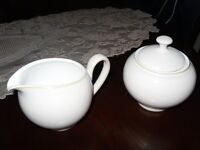 Very Nice DENBY CREAM & SUGAR (NEW, NEVER USED) ~ $20.00