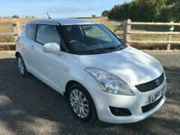 60 Suzuki Swift 1.2 ( 93bhp ) SZ4, FSH, White, Incredibly nice little car!