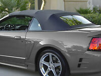 CONVERTIBLE TOP AND REAR WINDOWS